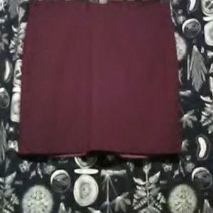 """""""Ellen Tracy"""" Burgundy skirt"""